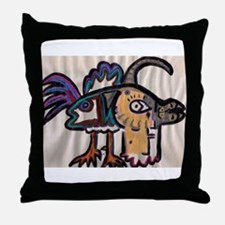 Harlequin Fine and Wrinkly Throw Pillow