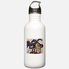 Harlequin Fine and Wrinkly Water Bottle