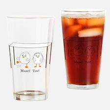 Mazel Tov Drinking Glass