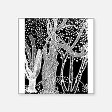 3 Trees Picasso Abstract Art Black White Sticker