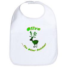 Olive The Other Reindeer Bib