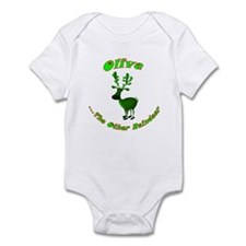 Olive The Other Reindeer Infant Bodysuit