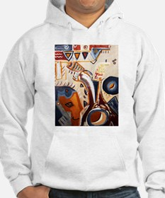 Picasso Manna Lisa Art Painting Hoodie