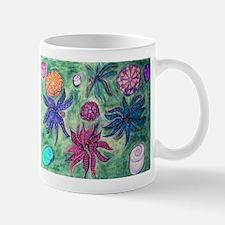 Picasso Male Flower Garden Art Mug