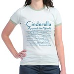 Cinderella Around the World Jr. Ringer T-Shirt