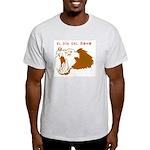 Monkey Day el mono Ash Grey T-Shirt
