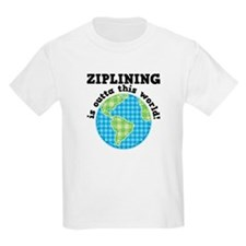 Ziplining Outta This World T-Shirt