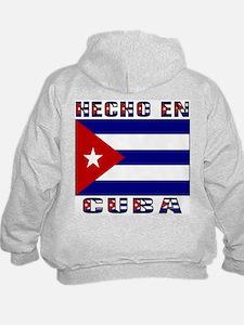 Hecho en Cuba Back Hoodie