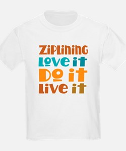 Funny Ziplining Quote T-Shirt