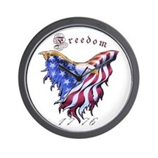 American Freedom, 1776 Wall Clock