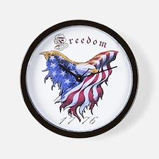 American Freedom, 1776 Wall Clock