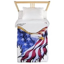 American Freedom, 1776 Twin Duvet