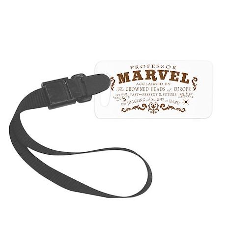 Professor Marvel Small Luggage Tag