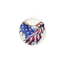 American Freedom, 1776 Mini Button