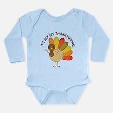My 1st Thanksgiving Baby Turkey Body Suit