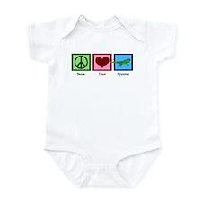 Peace Love Iguanas Infant Bodysuit