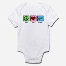 Peace Love Iguanas Infant Bodysuit
