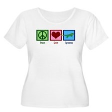 Peace Love Iguanas T-Shirt