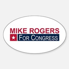 Elect Mike Rogers Decal