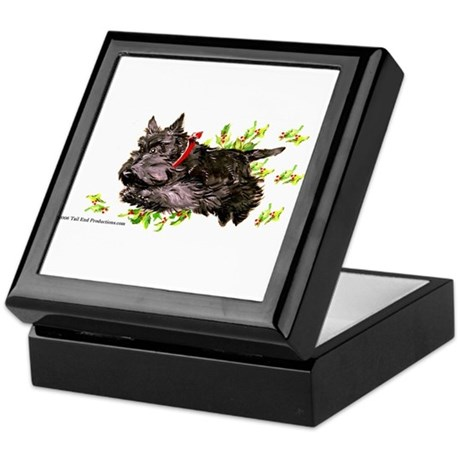 Great Leaping Scottie! Keepsake Box