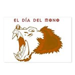 Monkey Day el mono Postcards (Package of