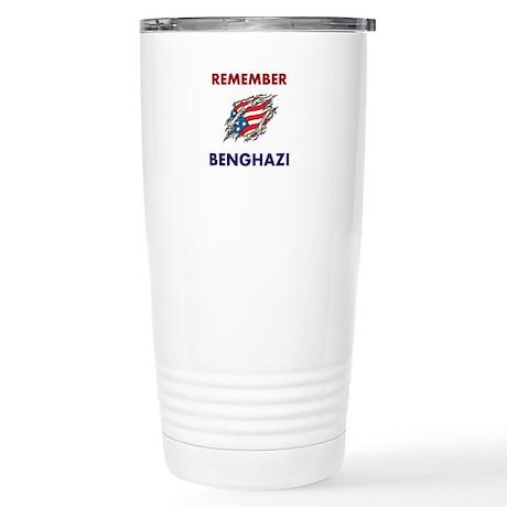 REMEMBER BENGHAZI Travel Mug