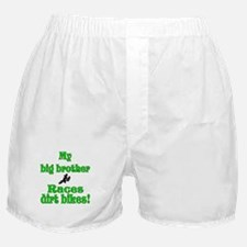My big brother races Kawaskak Boxer Shorts