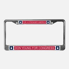 Elect Don Young License Plate Frame