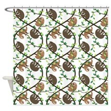 Sloths Shower Curtain