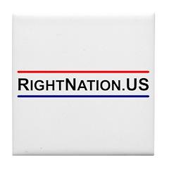 RightNation.US Tile Coaster