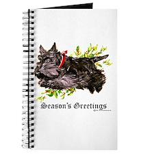 Season's Greetings Scottie Journal