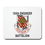 104TH ENGINEER BATTALION Mousepad