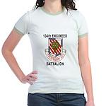 104TH ENGINEER BATTALION Jr. Ringer T-Shirt
