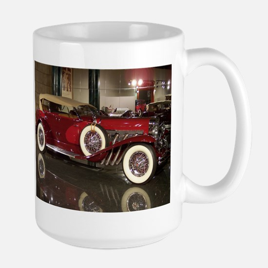 Big Red Car Mug