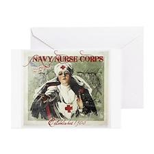 Vintage Navy Nurse Corps 1908 Greeting Cards (Pk o
