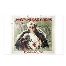 Vintage Navy Nurse Corps 1908 Postcards (Package o