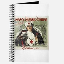 Vintage Navy Nurse Corps 1908 Journal