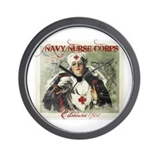 Vintage Navy Nurse Corps 1908 Wall Clock