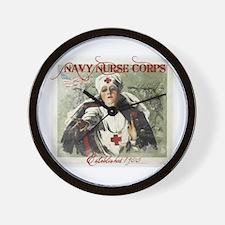 Vintage Navy Nurse Corps 1908 Wall Clock