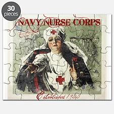 Vintage Navy Nurse Corps 1908 Puzzle