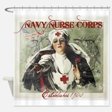 Vintage Navy Nurse Corps 1908 Shower Curtain