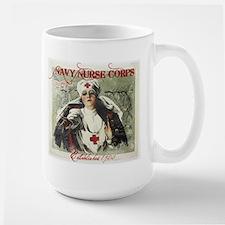 Vintage Navy Nurse Corps 1908 Mug