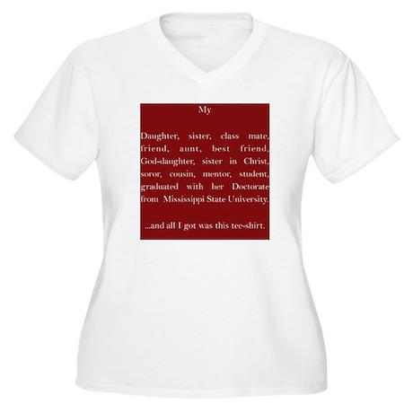 MSU 2013 Plus Size T-Shirt