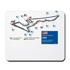 Formula 1 - Circuit of the Americas, USA Mousepad