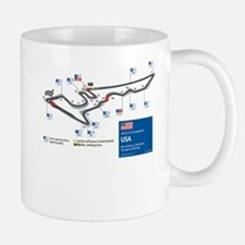Formula 1 - Circuit of the Americas, USA Mug