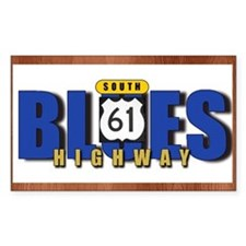 Blues Highway 61 Decal