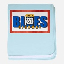 Blues Highway 61 baby blanket