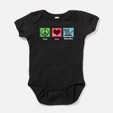Unique Chinchilla Baby Bodysuit