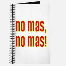No Mas, No Mas! Journal
