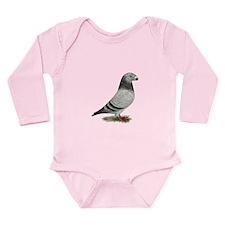 Show Racer Grizzle Pigeon Body Suit